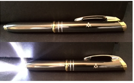 Masonic Torch Pen